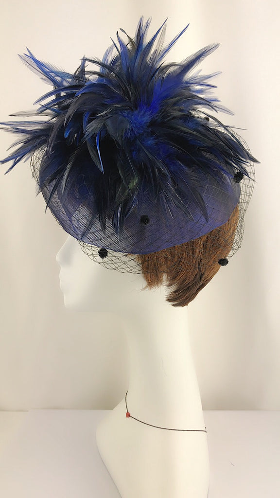 Hand Made OOAK Beautiful Fascinator Hair Accessory - PitaPats.com