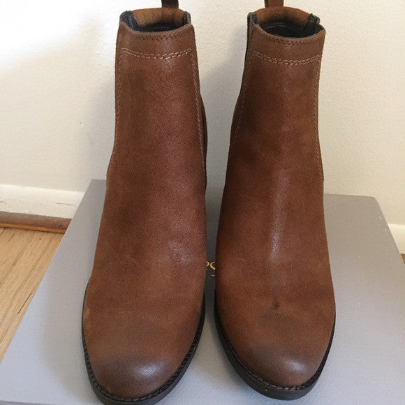 FRANCO SARTO Western Gore Leather Boots - PitaPats.com