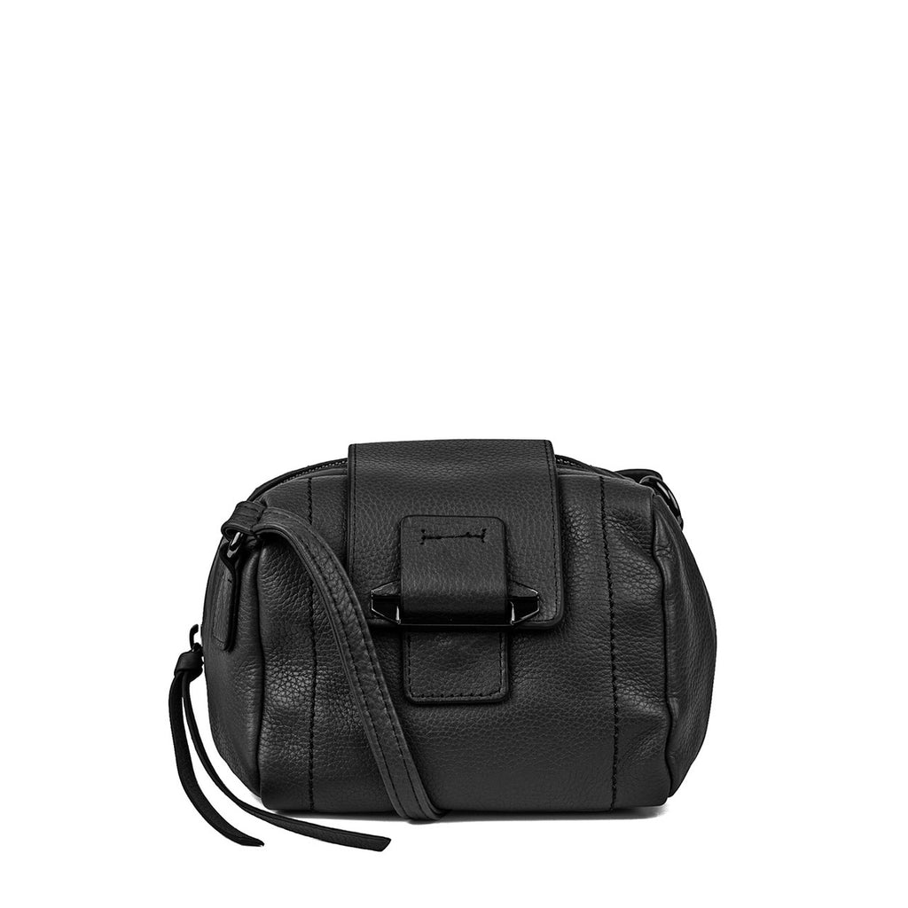 Kooba Women's Black Dina Leather Crossbody Bag - PitaPats.com