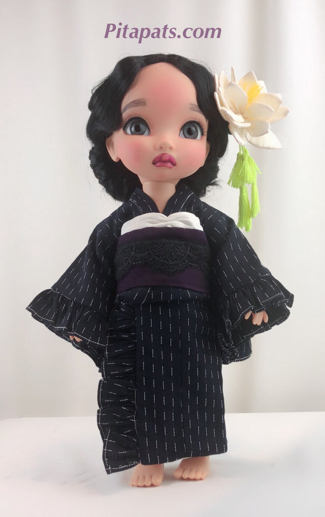 Custom Animator Doll Pocahontas in Pretty Kimono