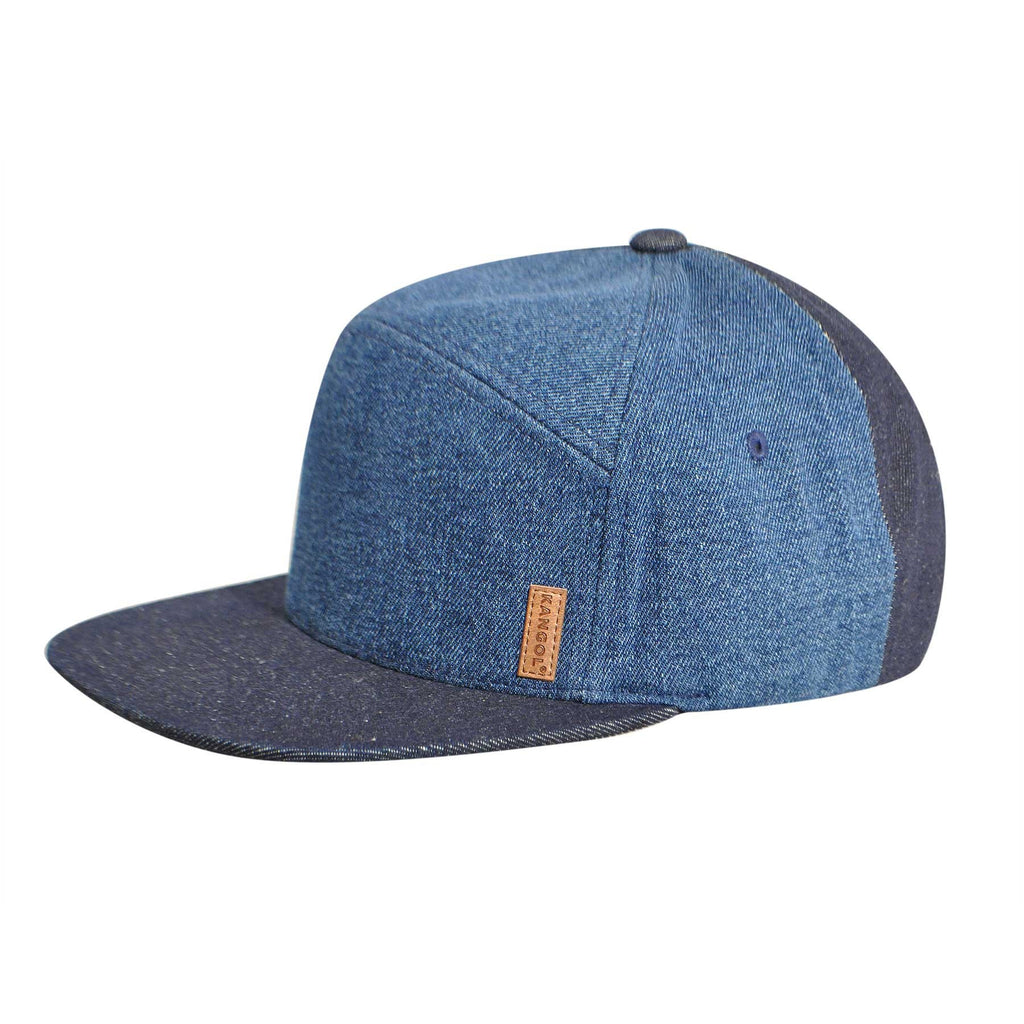 KANGOL Denim Panel Trucker Hat - PitaPats.com