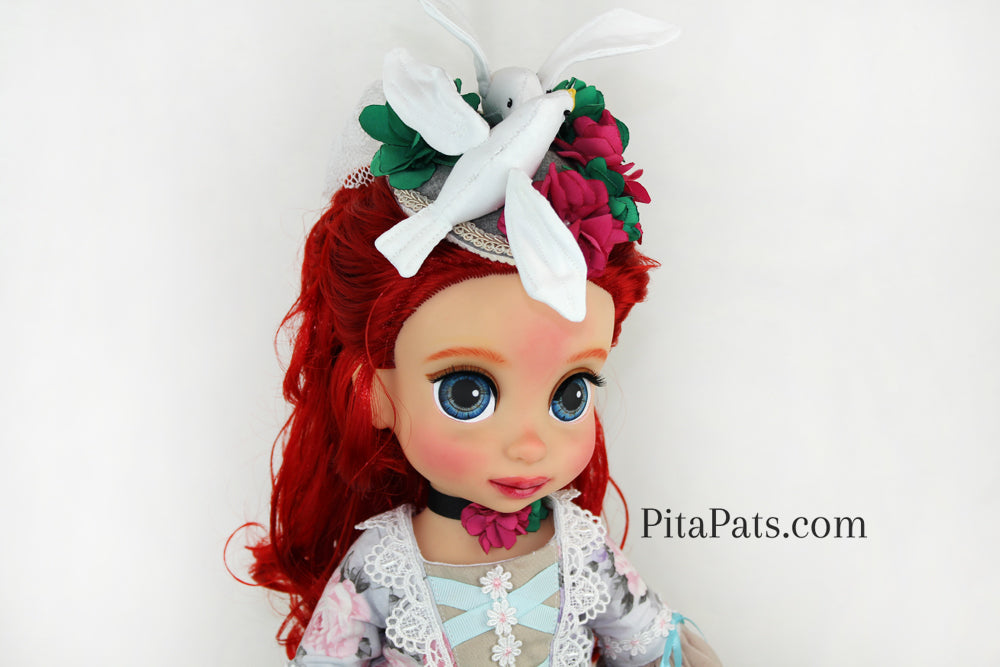 Custom Disney Repaint Animator Doll - MADAM COUNTESS - PitaPats.com