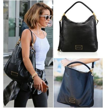 MARC BY MARC JACOBS Too Hot To Handle Leather Hobo - PitaPats.com