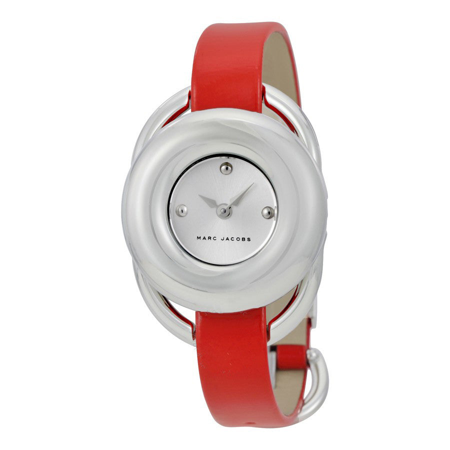 MARC JACOBS Women's Jerrie Dress Leather Strap Watch - PitaPats.com