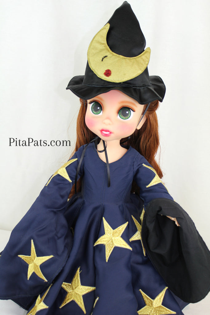 Custom Disney Animator Doll - WIZARD - PitaPats.com