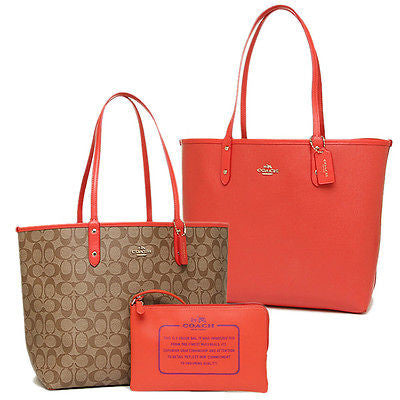 COACH REVERSIBLE CITY TOTE IN SIGNATURE - PitaPats.com