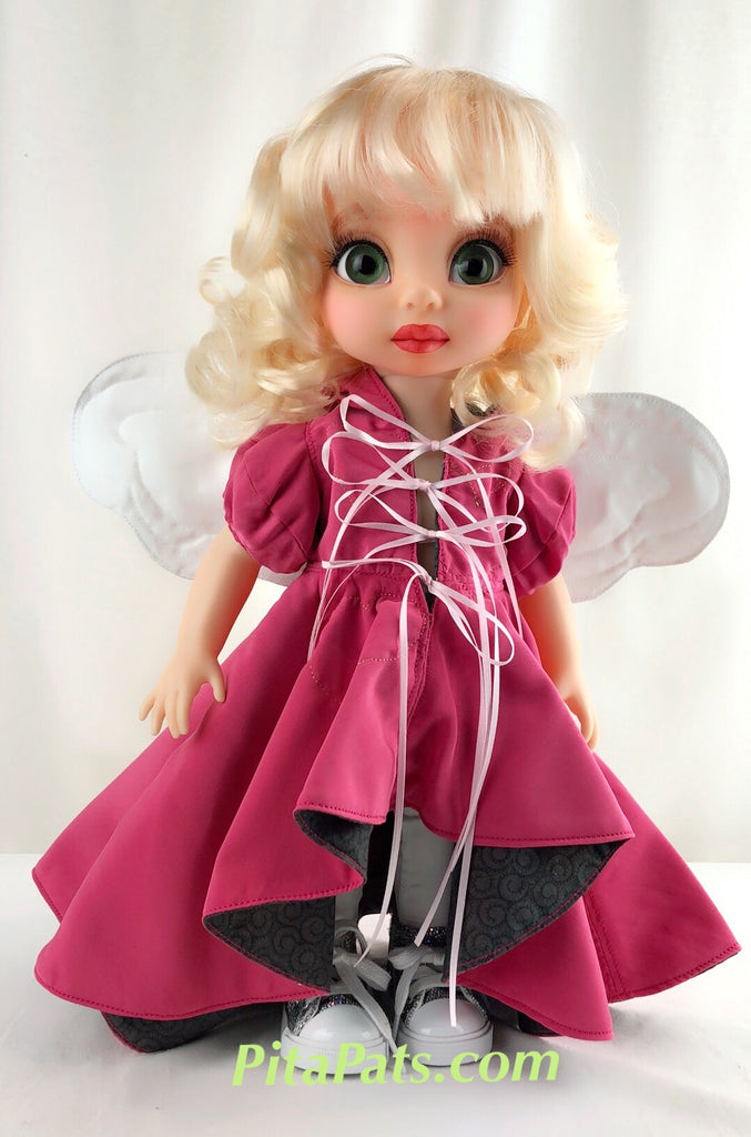 Custom Animator Doll Cinderella  - Pink Unicorn fairy