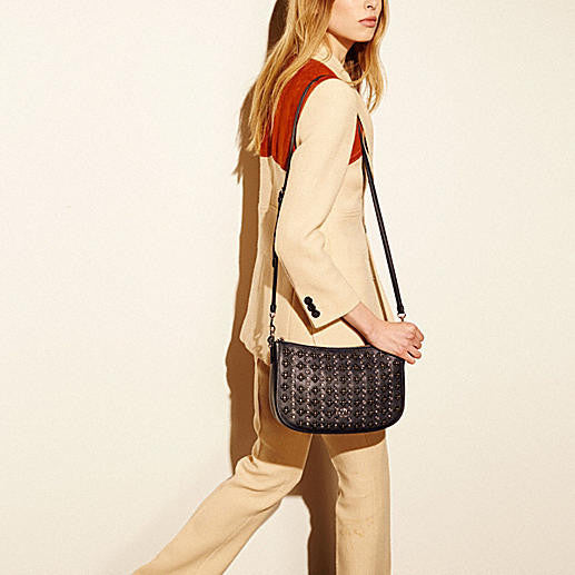 COACH CHELSEA CROSSBODY IN FLORAL RIVETS LEATHER – Pit-a-Pats.com abda77026a33b