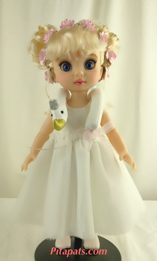 Custom Disney Animator Doll Cinderella - Swan Lake