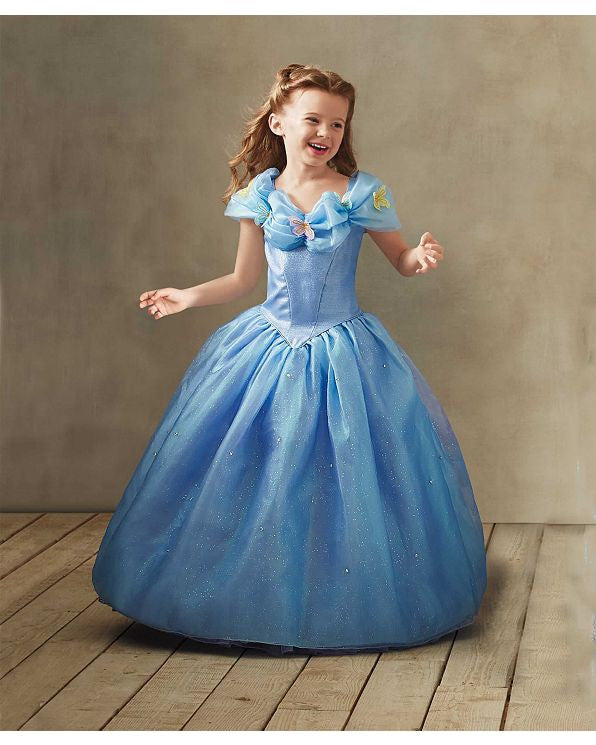 Child Cinderella Ultra Prestige Costume - really exceptional high quality - PitaPats.com