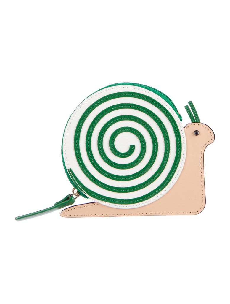 Kate Spade turn over a new leaf snail coin purse - PitaPats.com