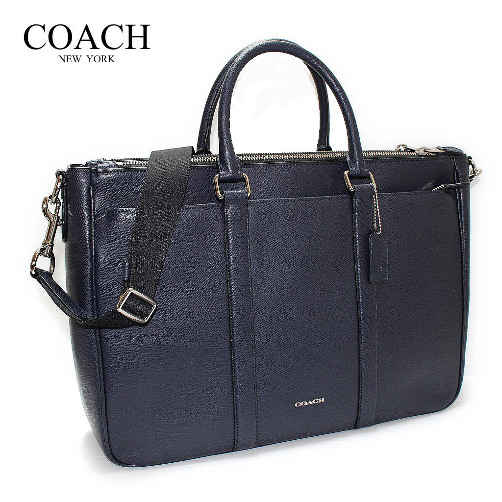 COACH PERRY METROPOLITAN TOTE IN CROSSGRAIN LEATHER - PitaPats.com