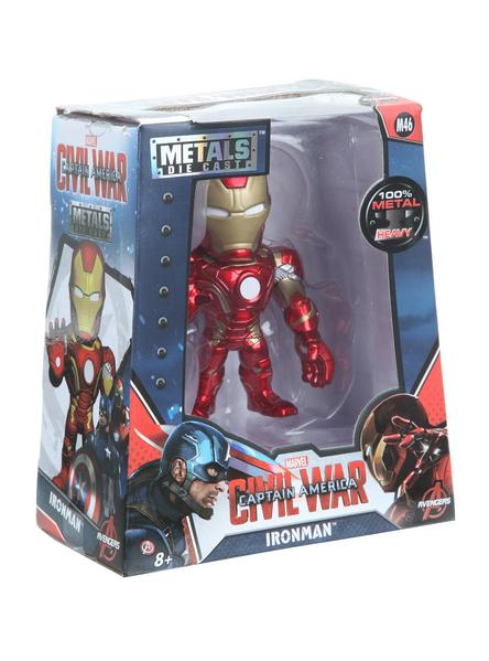 MARVEL CAPTAIN AMERICA: CIVIL WAR IRON MAN DIE-CAST METAL FIGURE