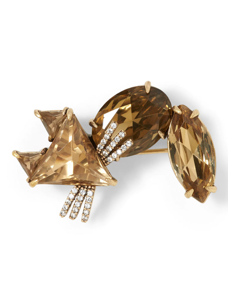 Banana Republic Jeweled Fox Brooch - PitaPats.com