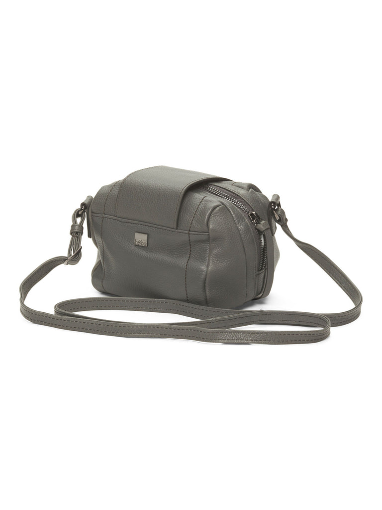 Kooba Women's Grey Dina Leather Crossbody Bag - PitaPats.com