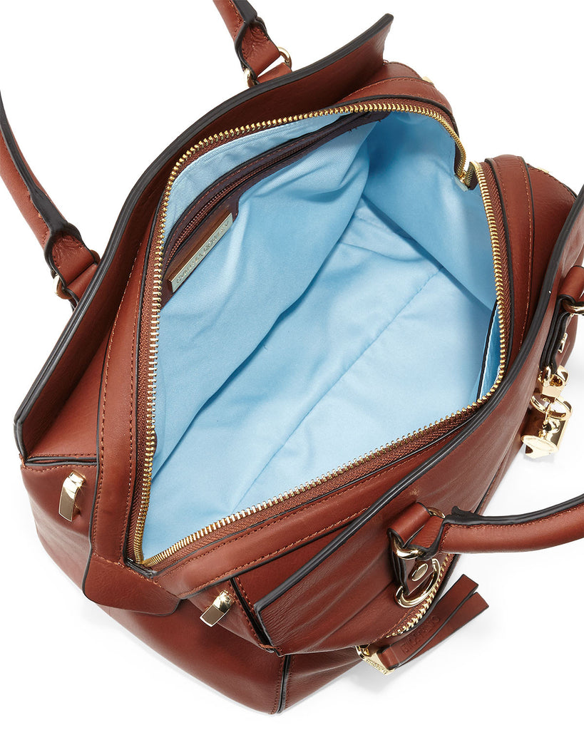 Cynthia Rowley Dylan Leather Satchel Bag - PitaPats.com