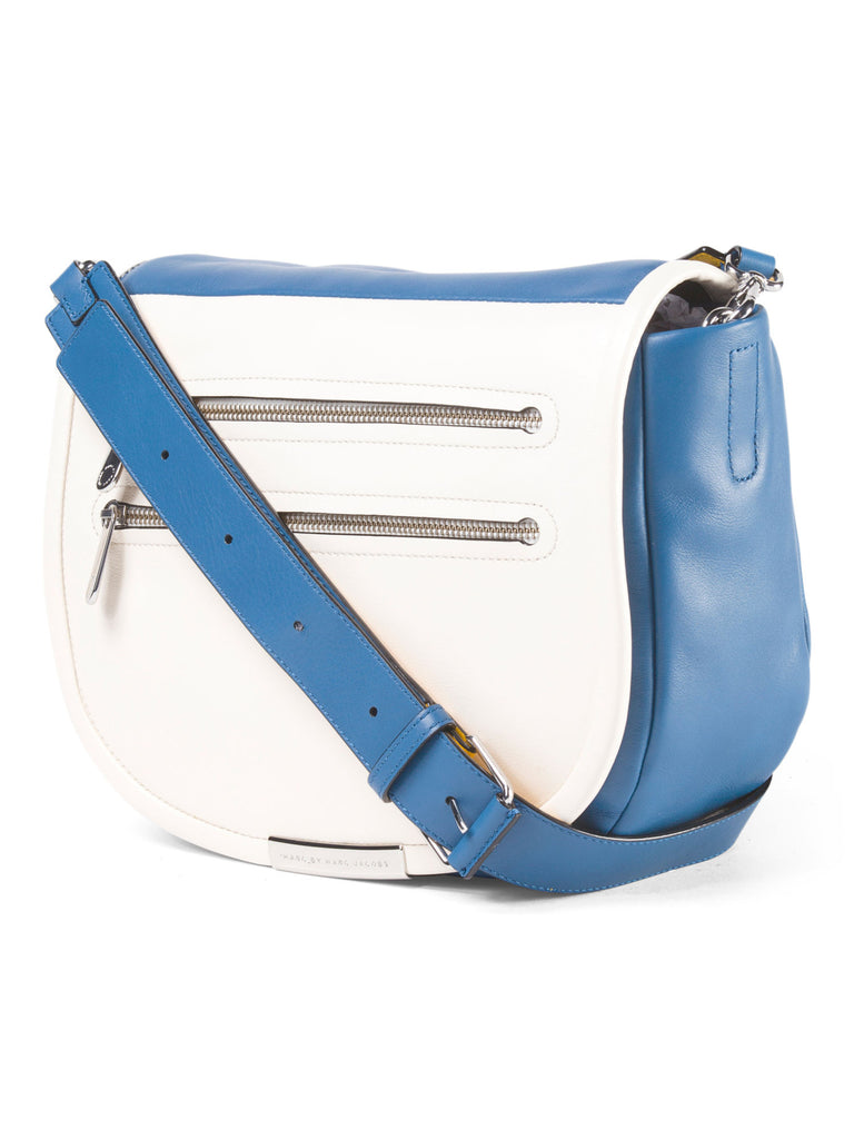 MARC BY MARC JACOBS Leather Luna Messenger