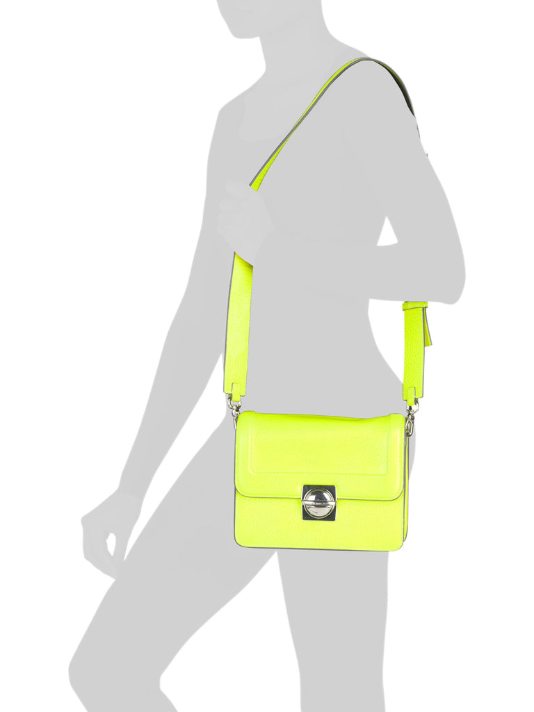 MARC BY MARC JACOBS Leather Top Schooly Messenger - PitaPats.com