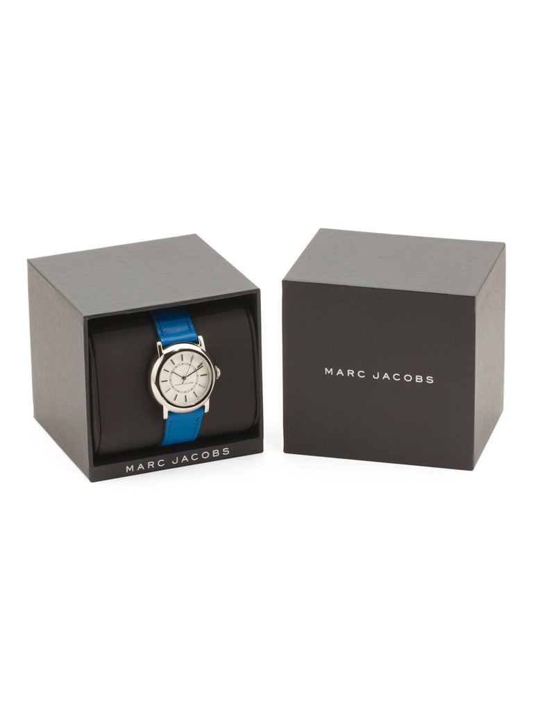 MARC JACOBS Women's Courtney Leather Strap Watch