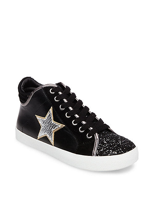 Steve Madden Savior Leather Athletic Sneakers