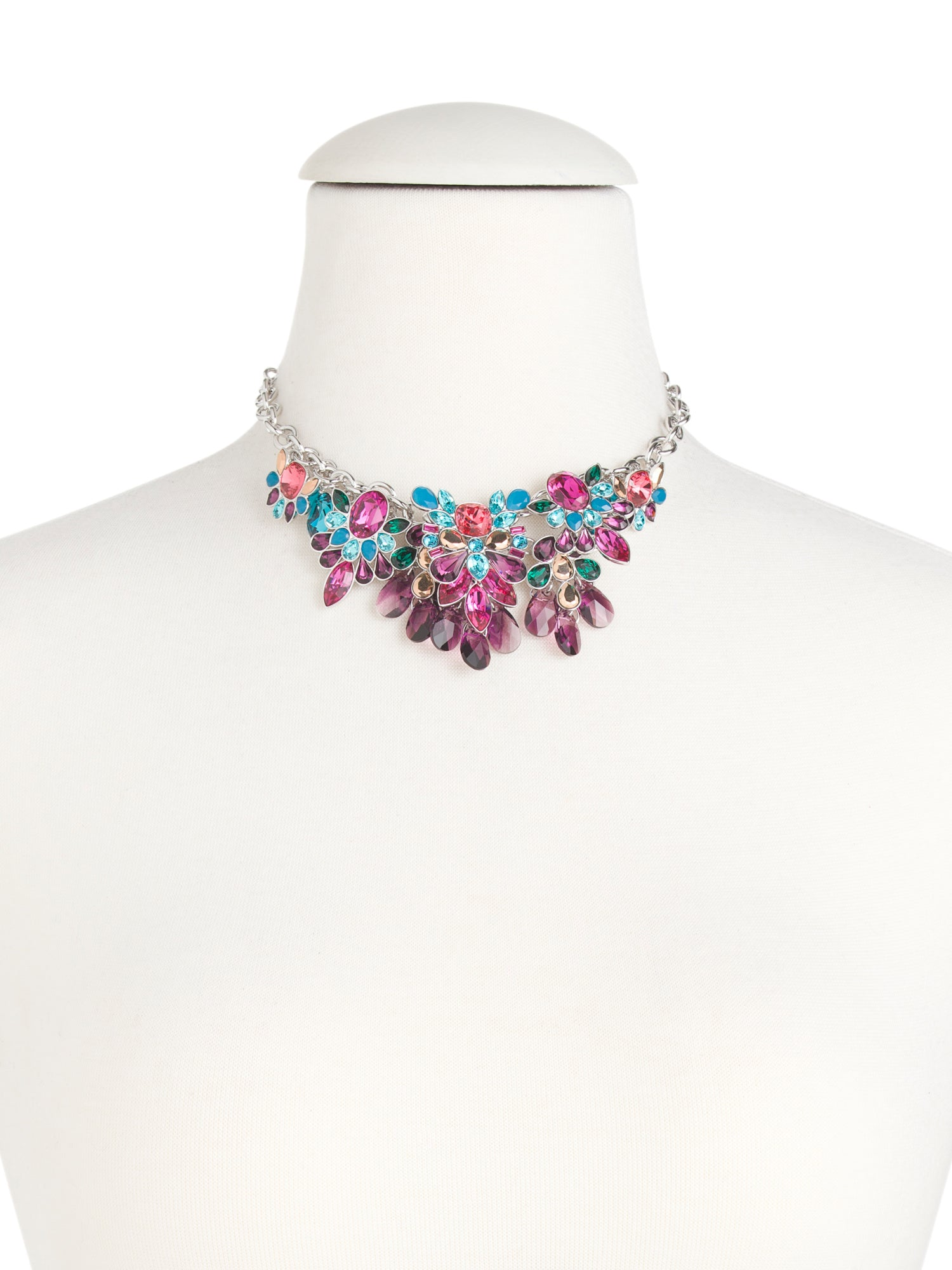 necklace by crystal cardinal created product combinations red