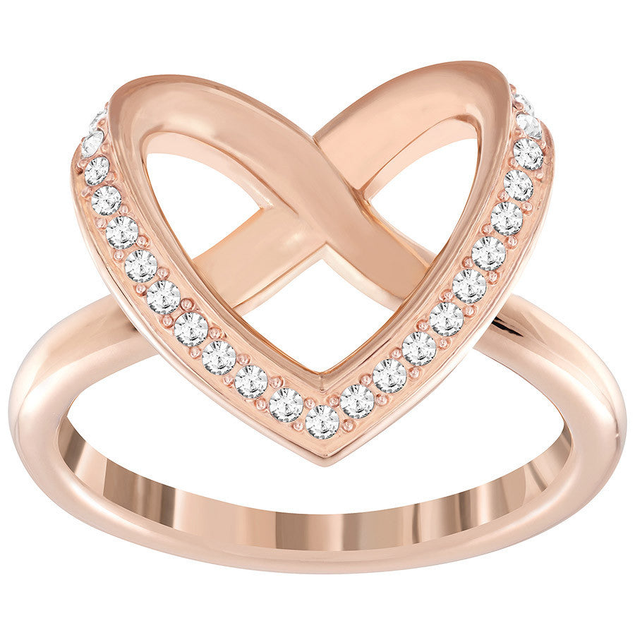 Swarovski Cupidon Ring - rose gold