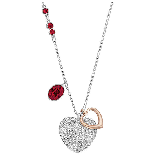 Swarovski Duo Heart Medium Pendant