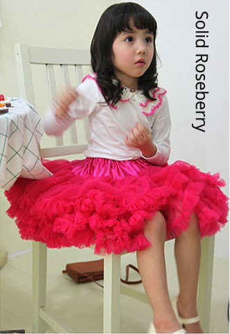PITaPATs Handmade mini Tutu Skirt for Girls Type C 4-5yrs - PitaPats.com