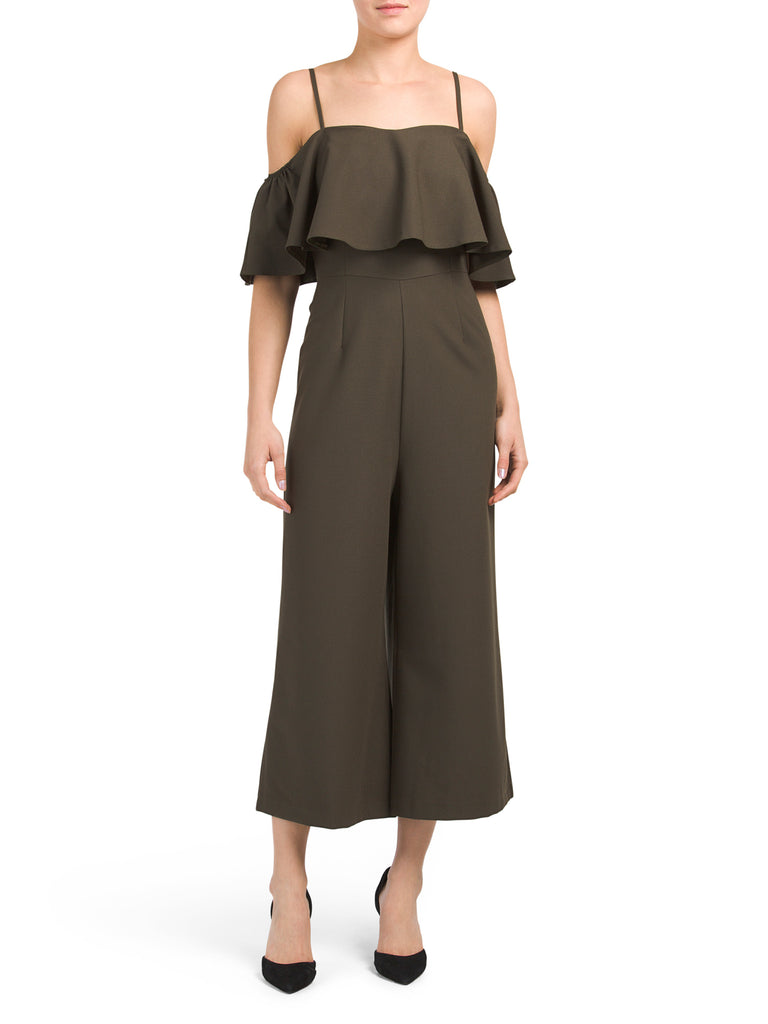 VANESSA Made In Italy Wide Leg Jumpsuit - PitaPats.com