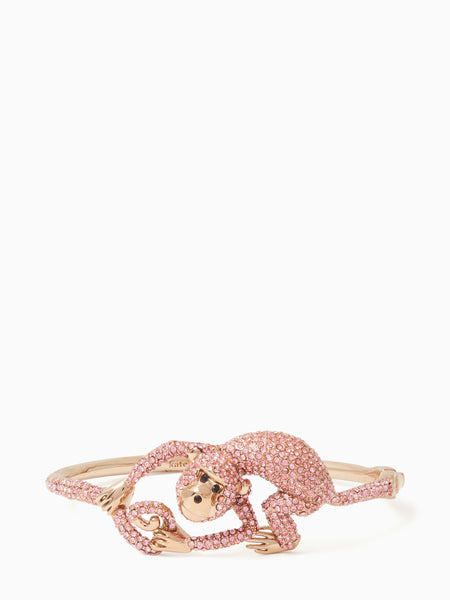 Kate Spade rambling roses monkey bangle