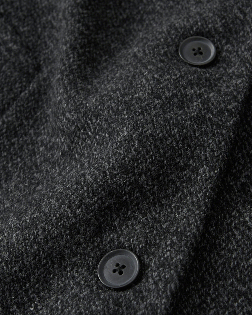 Abercrombie & Fitch LONG WOOL-BLEND COAT - PitaPats.com
