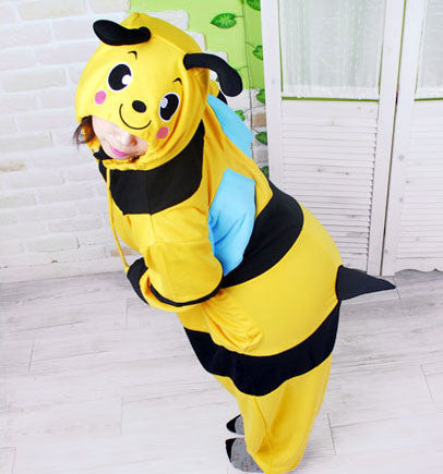 PITaPATs kids onesie animal jumpsuit costume - long sleeve bumblebee - PitaPats.com