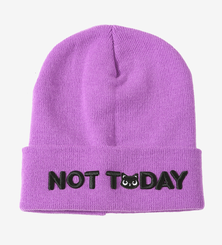 PITaPATs NOT TODAY CAT WATCHMAN BEANIE