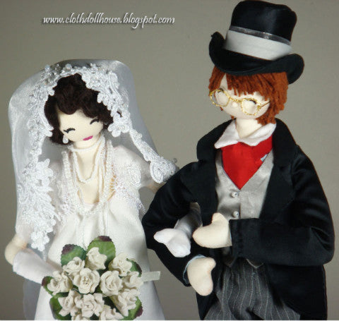 Wedding Bride and Groom - PitaPats.com