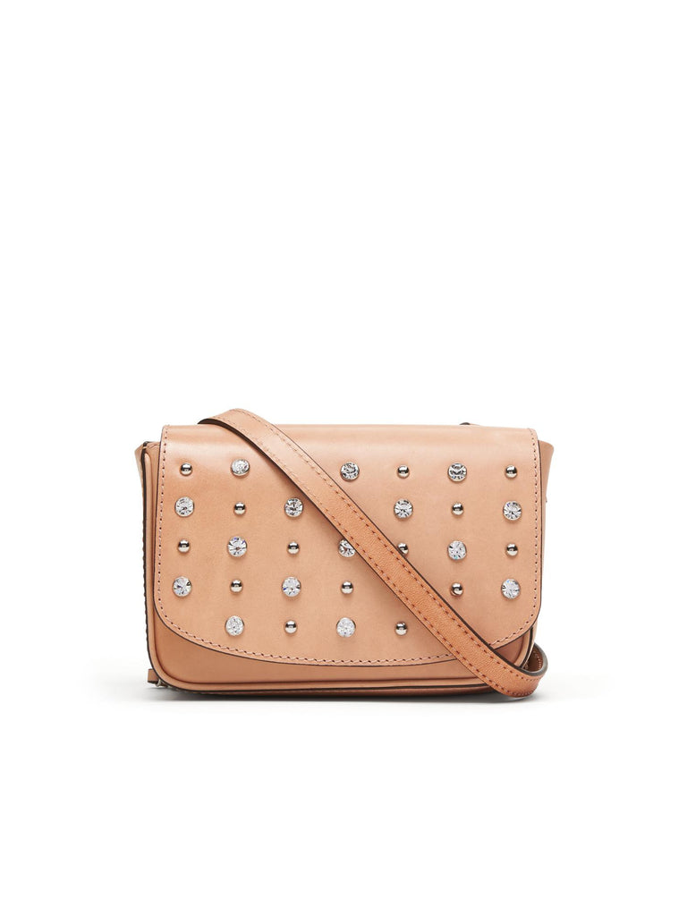 Banana Republic Studded Mini Double Saddle Bag - PitaPats.com