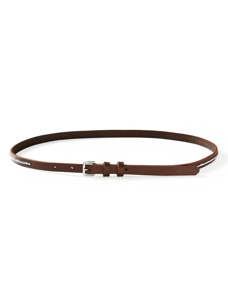 Banana Republic Beaded-Center Skinny Leather Belt - PitaPats.com
