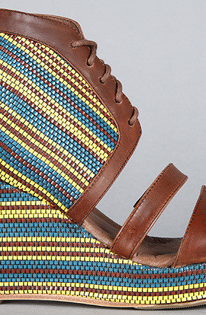 80%20 The Erie Shoe in Maize Wedge Sandal - PitaPats.com