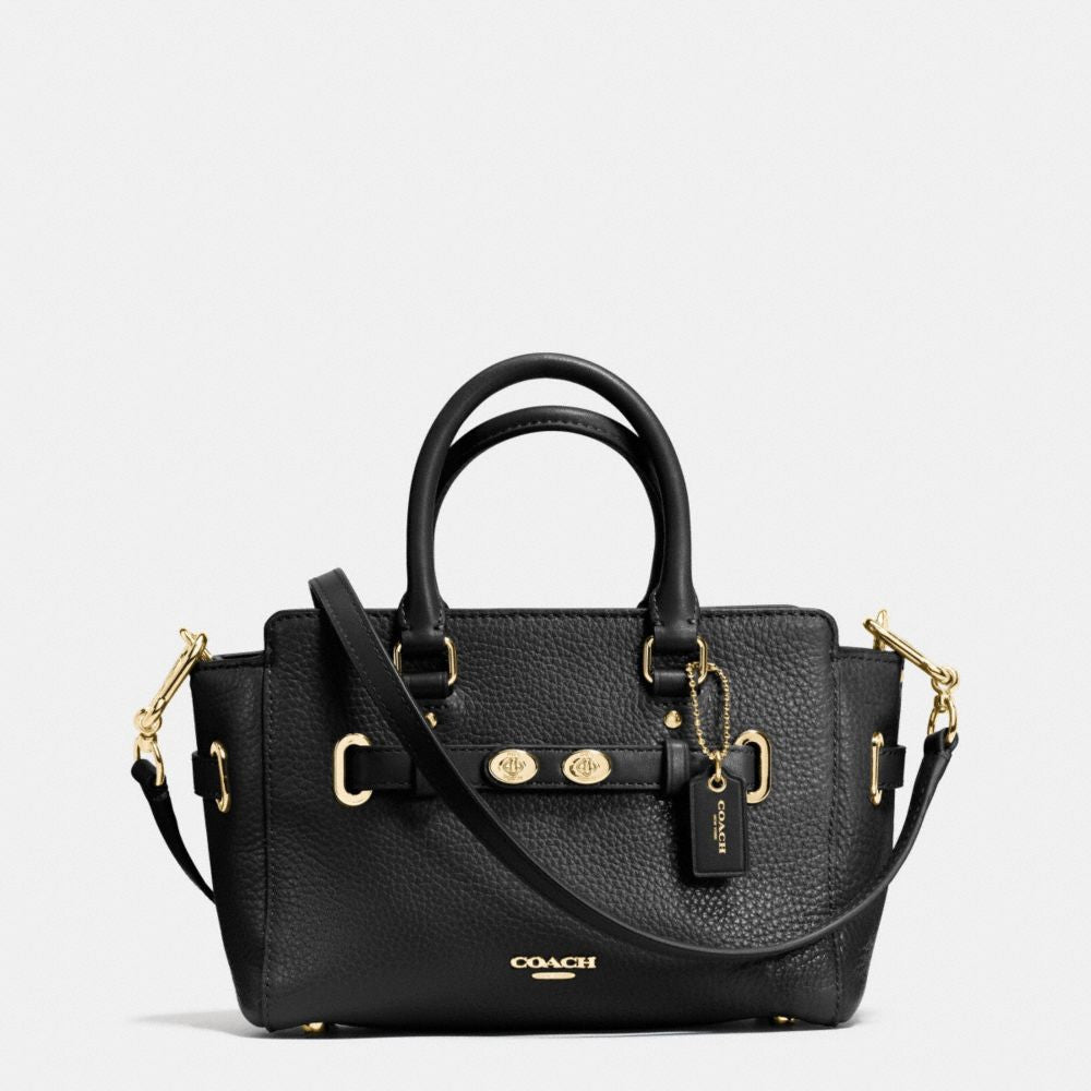 COACH MINI BLAKE CARRYALL IN BUBBLE LEATHER - PitaPats.com