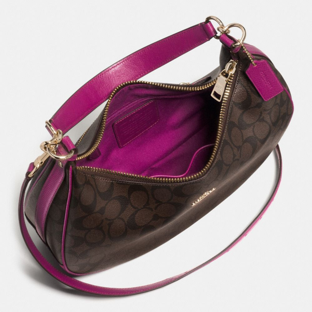 COACH HARLEY EAST/WEST HOBO IN SIGNATURE F38267 - PitaPats.com