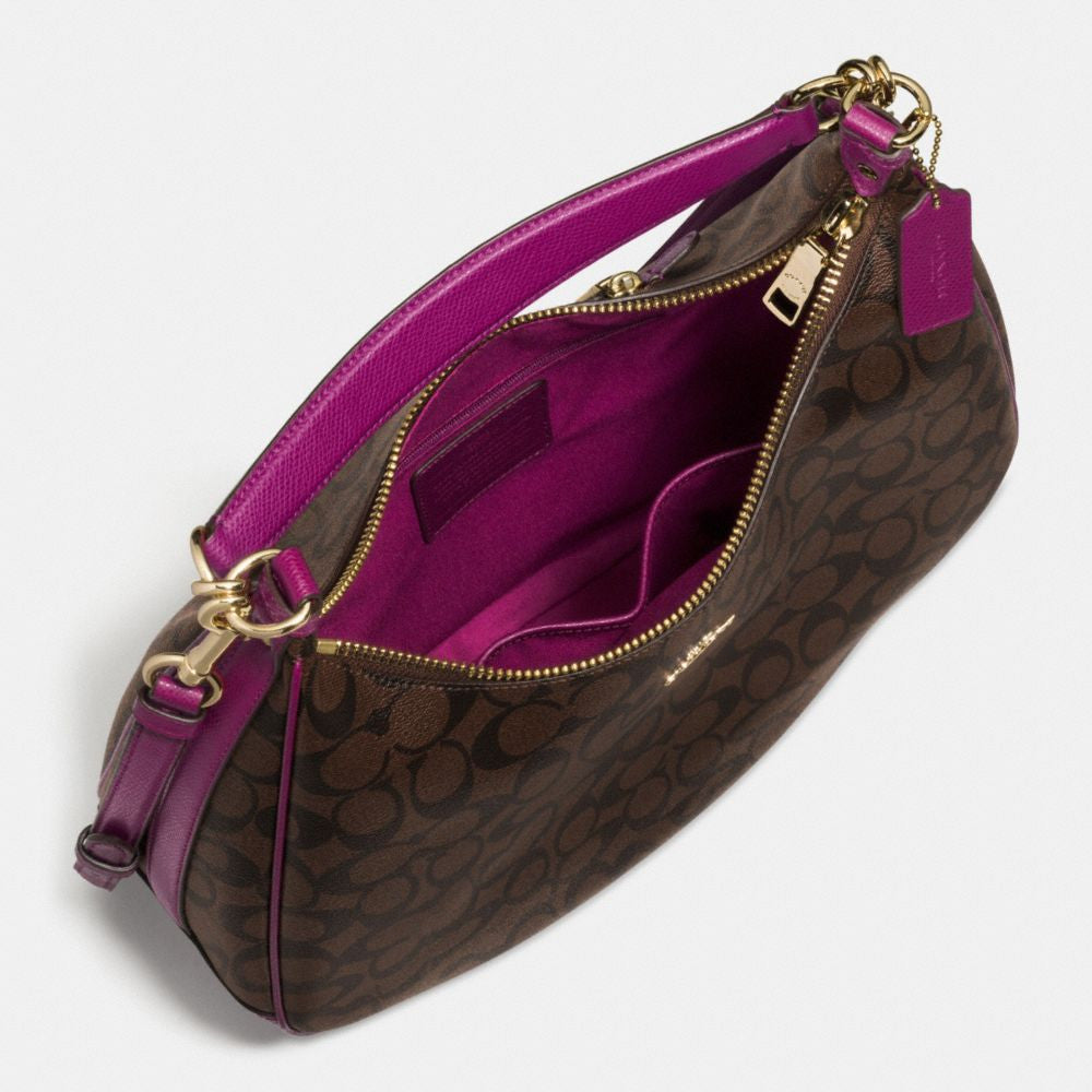 COACH HARLEY HOBO IN SIGNATURE - PitaPats.com