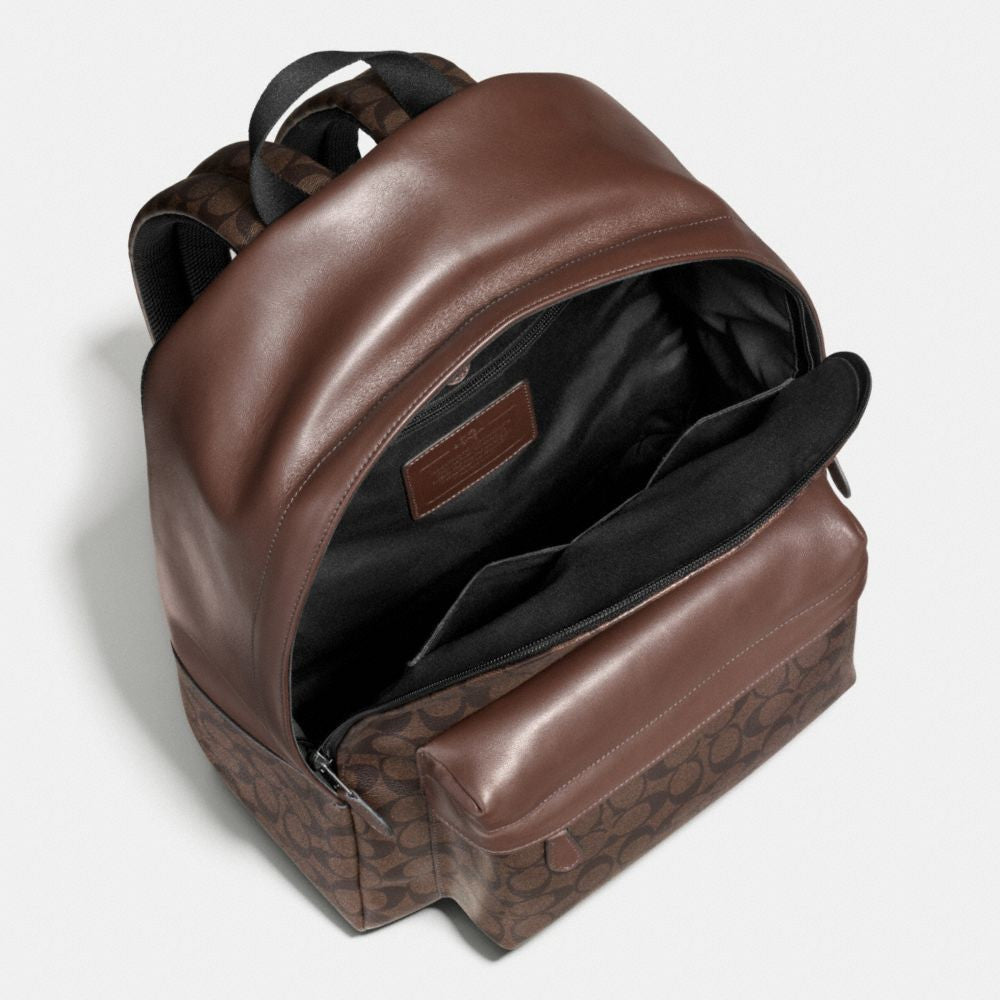 COACH CHARLES BACKPACK IN SIGNATURE - PitaPats.com