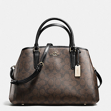 COACH SMALL MARGOT CARRYALL IN SIGNATURE - PitaPats.com