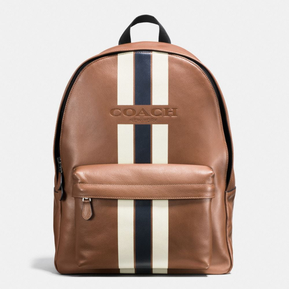 COACH CHARLES BACKPACK IN VARSITY LEATHER – Pit-a-Pats.com