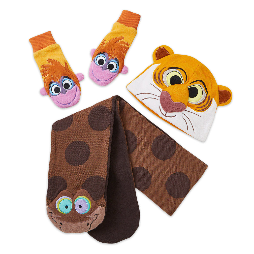 Disney The Jungle Book Warmwear Accessories Set - Disney Furrytale friends
