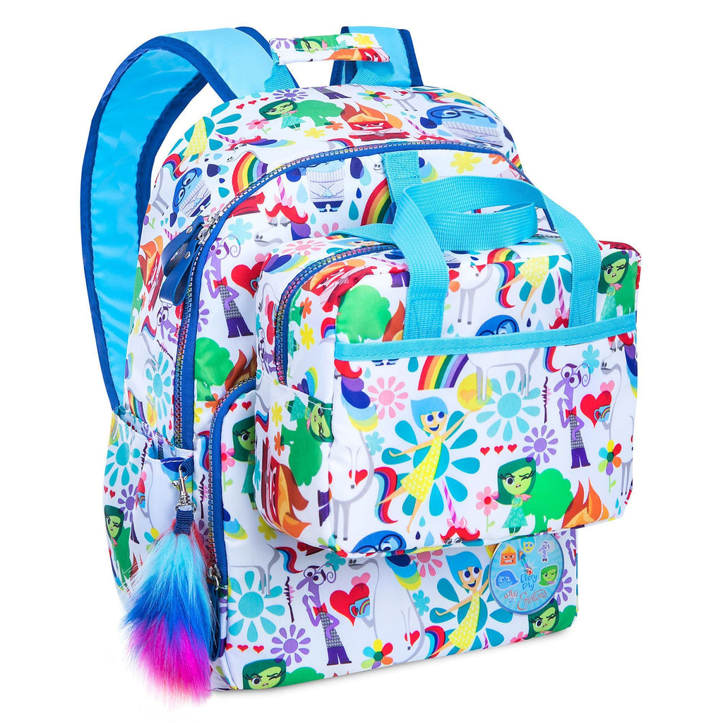 Disney Inside Out colorful Backpack - PitaPats.com