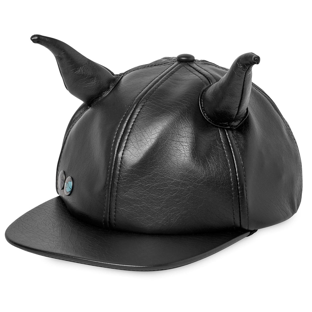 Disney Maleficent Faux Leather Horned Cap for Adults - PitaPats.com