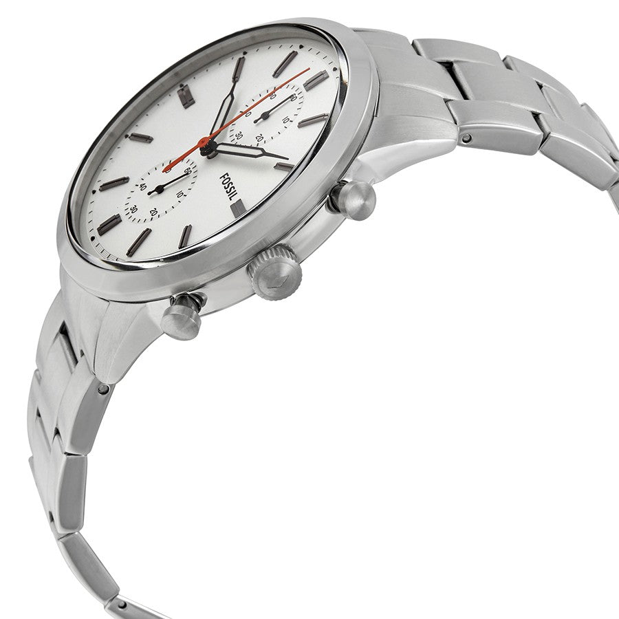Fossil Townsman 44mm Chronograph Stainless Steel Watch - PitaPats.com