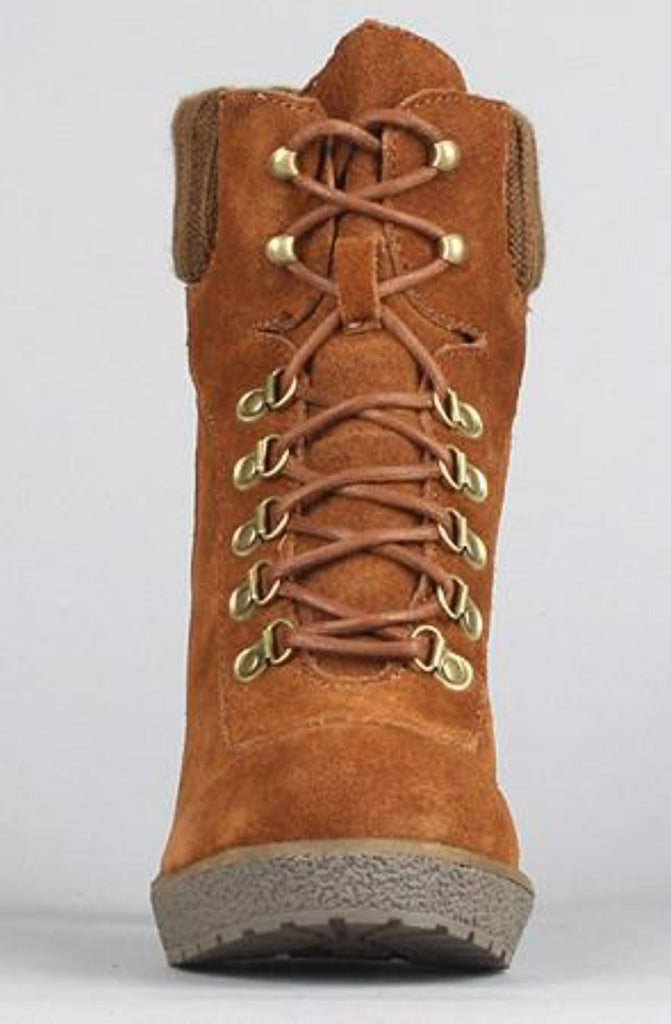 Sole Boutique - The Hello Boot in Brown - PitaPats.com