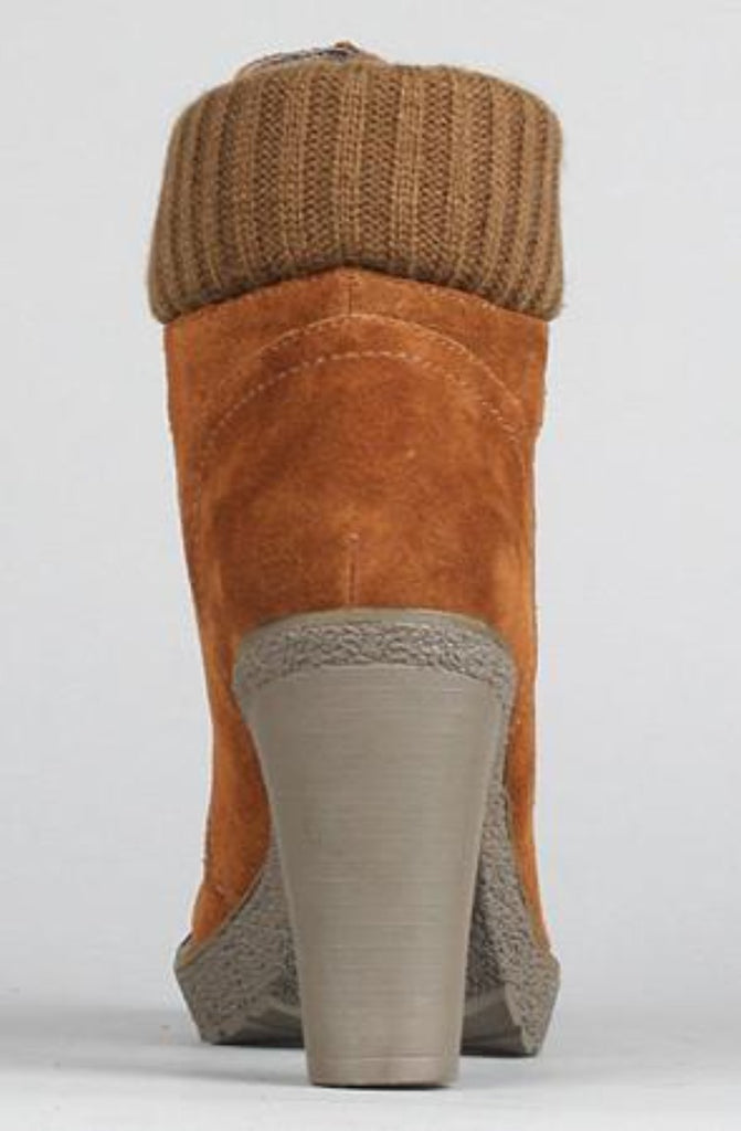 Sole Boutique - The Hello Boot in Brown - Size 8.5 - PitaPats.com