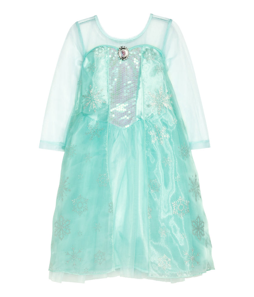 Frozen Elsa Princess Dress costume with Cape - PitaPats.com